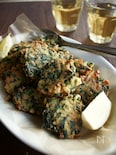 ギリシャの野菜のミートボール風、ほうれん草のケフテデス