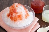 ふわふわかき氷をお家で作ろう!簡単手作りシロップ付き