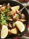 人気のポルトガル料理♪豚肉とあさりのアレンテージョ風