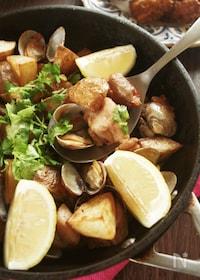 『人気のポルトガル料理♪豚肉とあさりのアレンテージョ風』