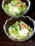 レタスとカニカマの春雨サラダ