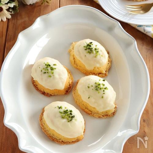 ホワイトチョコのレモンケーキ