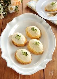 『ホワイトチョコのレモンケーキ』