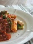 鯛と芽キャベツのトマト煮