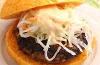 あのファミレスの味!レギュラーバーグディッシュでハンバーガー