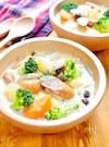 ほっこり♪満足!『ウインナーと野菜のポトフ風ミルクスープ』