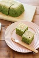 ホットケーキミックス&電子レンジで簡単♪抹茶ケーキ