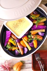 <BRUNO>チーズがたまらない!カラフル野菜の簡単アリゴ