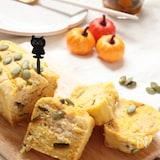 米粉で作る。かぼちゃのマーブルパウンドケーキ。