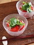 トマトとパクチーのエスニックサラダ