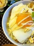 日持ちするチキンでロコモコ風☆鶏むね肉で照りたまチキン丼