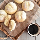 ホットケーキミックス利用で簡単!ふわふわ♡白パン