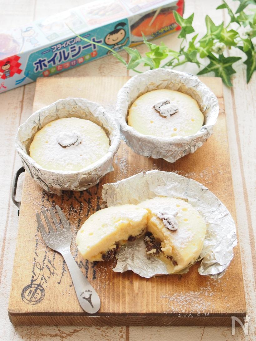 オーブン不要!フライパンで作るチーズケーキレシピとアレンジ3選の画像