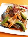 鯖と焼ネギのコチュジャン煮