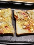 ホットプレートで楽々!ずぼらさんのピザトースト