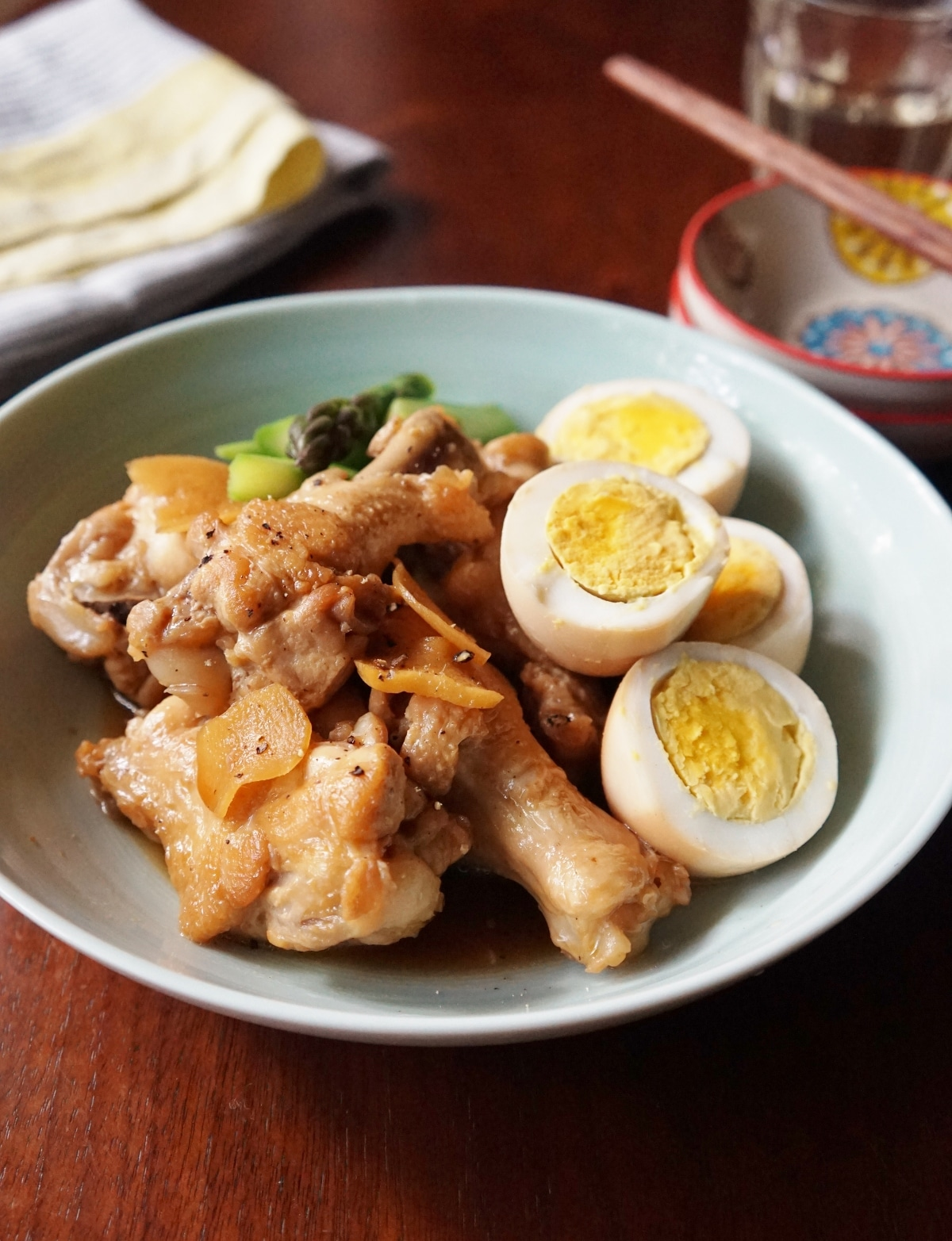 鶏 さっぱり かんたん 酢 で 煮 の