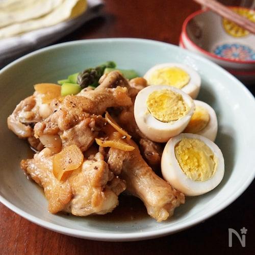 お酢でやわらか!鶏手羽のさっぱり煮