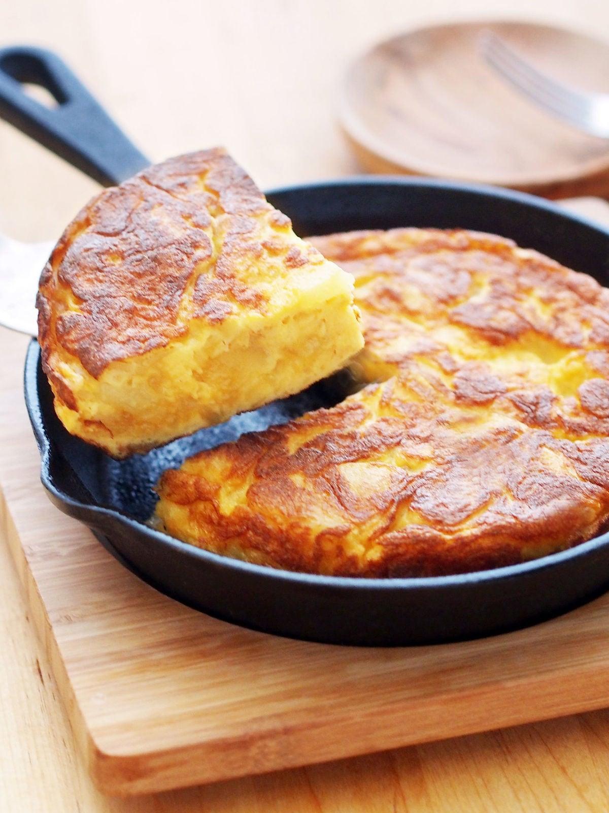 スペイン オムレツ レシピ 【みんなが作ってる】 スパニッシュオムレツのレシピ