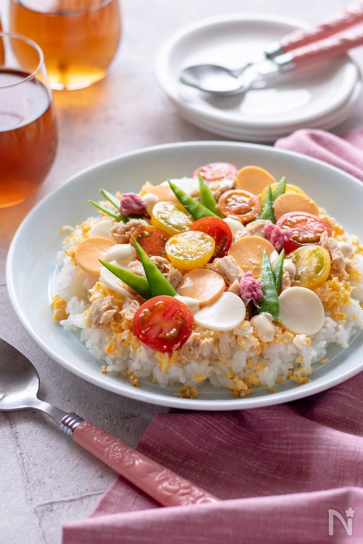華やか「ひな祭りごはん」のレシピ30選。定番ちらしから手まり寿司も!の画像