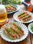 夏を盛り上げる!【しっとりササミ串】スッキリ梅昆布めんたい味