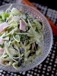 副菜に!かいわれ大根とキャベツのヨーグルトサラダ