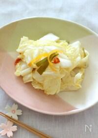 『めんつゆで作る簡単【白菜の浅漬け】』
