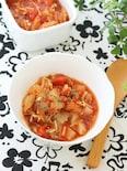 ホエーで栄養満点&作り置きOK!大根ときのこのトマト煮