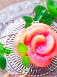桃のコンポート『簡単皮むき法』『桃のびっくり長持ち保存法』