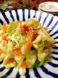 [作り置き][5分調理]キャベツと人参の生姜漬け