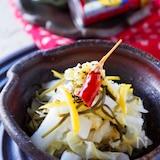 ポリ袋で*切り方でシャキシャキ白菜の浅漬け*鍋の余り白菜利用
