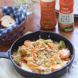 忙しい日にパパッと作れる!ピエトロのトマトガーリックソースで簡単チーズ焼き
