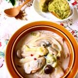 【ひとなべレシピ】牡蠣と白菜のクリーム煮