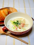 朝食に合う優しい味の「白菜と大根のクリーム煮」