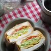 具がはみ出ない!食べやすい!「極厚サンド」の作り方