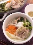 山椒『しびれ鍋』さわやかな辛さの白湯スープ