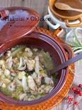 汁まで飲み干す美味しさ♡胃腸に優しい♡『白菜と鶏肉のうま煮』