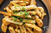 『鶏むねと長芋のにんにく味噌炒め』長芋シャキッ!ご飯が進む♡