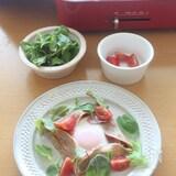 すりおろしトマトのガレット