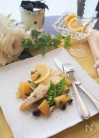 『まるでレストラン♡フライパン一つで白身魚のポワレ』