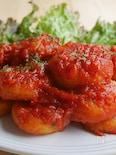 トマトが絡む◎イタリアンなじゃがもち