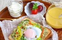 時間がない朝もこれで満足!とろ〜り卵のごちそうトーストまとめ