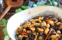 これさえあれば『ひじきの煮物』♪の1番好きな食べ方