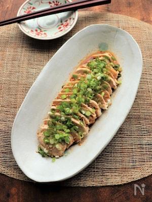 サラダチキンと焼肉のタレで簡単!よだれ鶏
