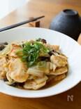 ご飯のっけも!『白菜とやわらかむね肉の中華風とろみ煮』