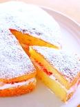 ビクトリア・スポンジケーキ(イギリスのショートケーキ)