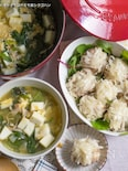 2品調理・はんぺん焼売とスープ【STAUBレシピ】