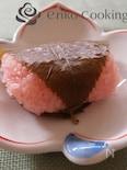 【レンジで簡単】関西風桜餅(道明寺)