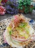 夏の使い残し乾麺とキャベツの使いきり!ぶっかけ和風まぜまぜ麺