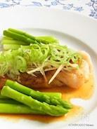 白身魚の和風ムニエル 香味レモンソース