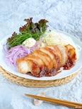おぼえやすい調味料☆鶏胸肉の蜂蜜味噌漬け焼き!